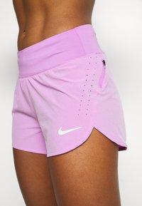 Nike Performance - ECLIPSE SHORT - Urheilushortsit - fuchsia glow/reflective silver - 4