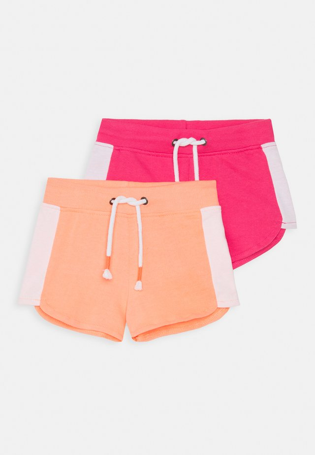 GIRLS 2 PACK - Shorts - flamingo/pink