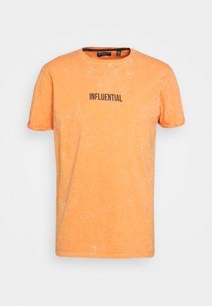 Camiseta estampada - peach