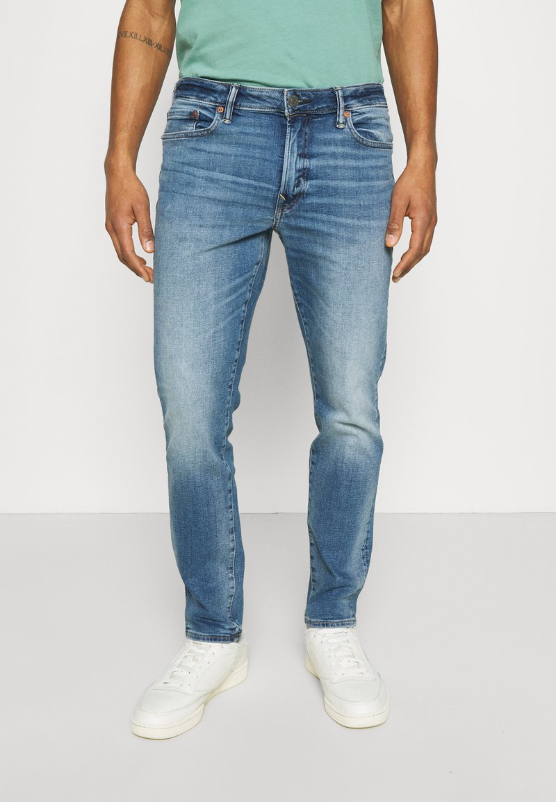 American Eagle - WASH - Jeans Slim Fit - faded light