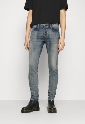 SLEENKER-X - Slim fit jeans - dark-blue denim