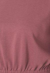 South Beach - OVERSIZED CROP - Sweatshirt - rose brown - 5