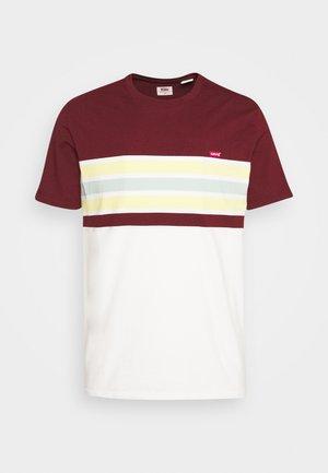 ORIGINAL TEE - Camiseta básica - bordeaux