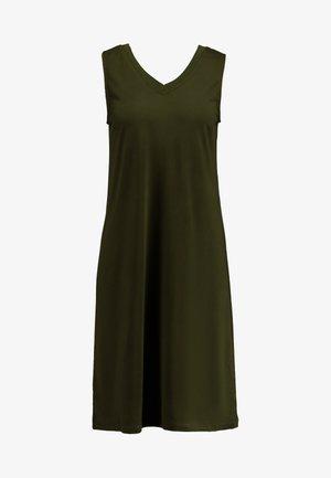 SLFAIA V NECK DRESS - Jersey dress - rosin