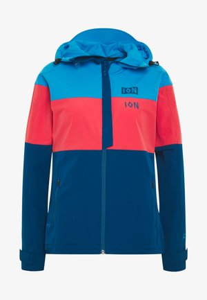 JACKET SHELTER - Softshelljacke - inside blue