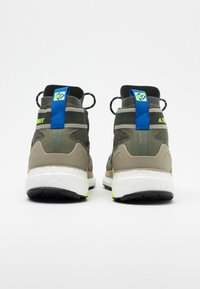 adidas Performance - FREE HIKER BOOST PRIMEKNIT SHOES - Hiking shoes - legend green/core black/sigal green - 2