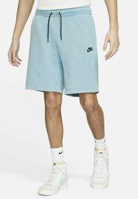 Nike Sportswear - Shorts - cerulean/black - 0
