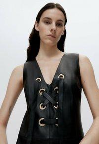 Uterqüe - Shift dress - black - 3
