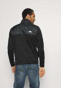 The North Face - TRAIN LOGO ZIP - Bluza - black/asphalt grey - 2