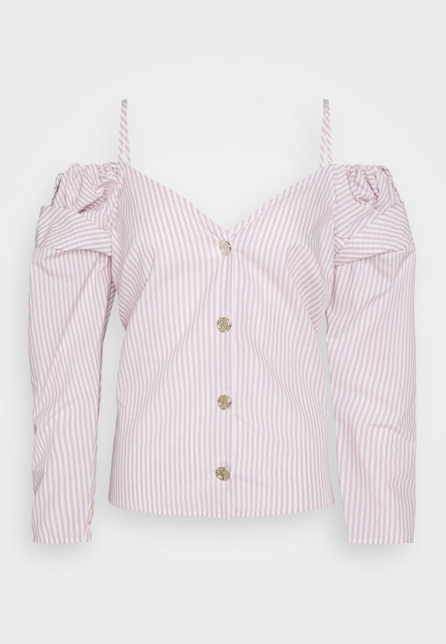 Blouse - pink - light
