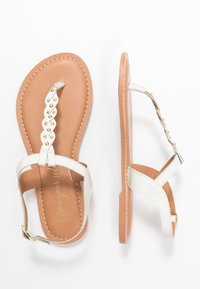 New Look Wide Fit - WIDE FIT GINA - T-bar sandals - offwhite - 3