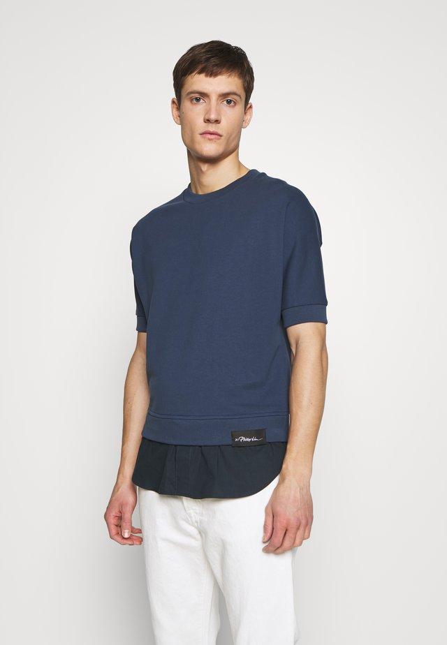 POPLIN - Sweatshirt - petrol blue