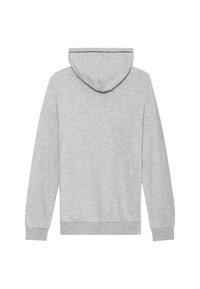 Tezenis - Zip-up hoodie - grigio mel.chiaro/nero - 4