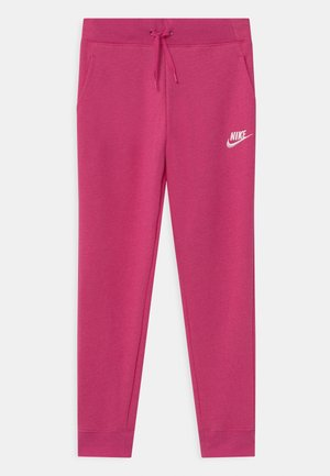 Tracksuit bottoms - fireberry