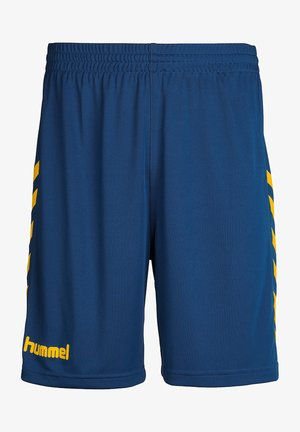 Korte broeken - true blue/sports yellow