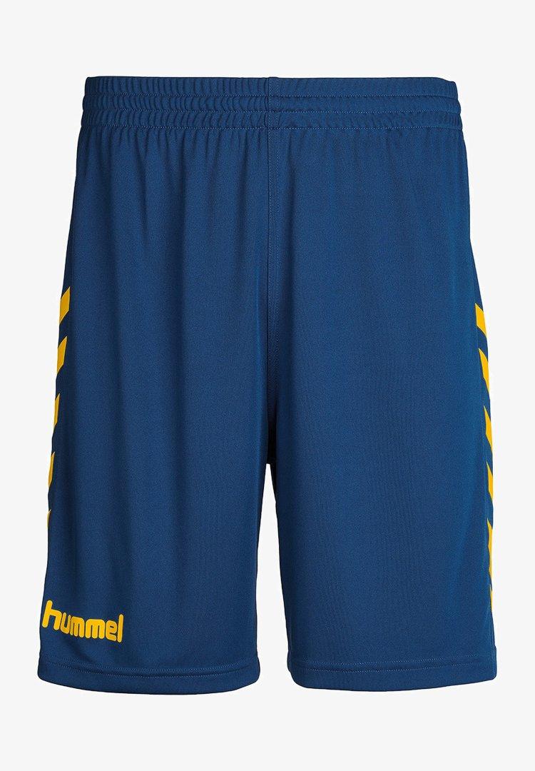 Hummel - Sports shorts - true blue/sports yellow