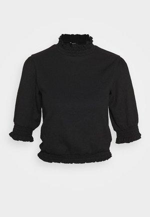 NICOLINA - Blusa - black dark