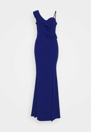 FRILL DETAIL DRESS - Gallakjole - cobalt blue