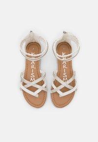 KHARISMA - T-bar sandals - medusa bianco - 5