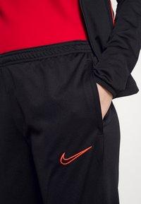 Nike Performance - ACADEMY 21 TRACKSUIT - Tracksuit - black/bright crimson - 8