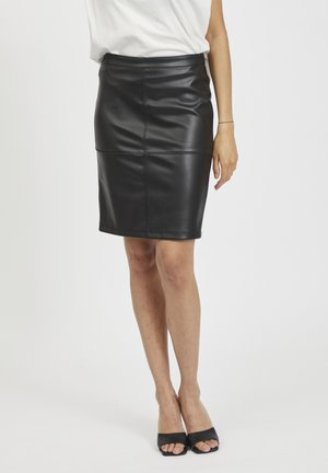 VIPEN - Pencil skirt - black