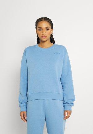 LOGO BASIC - Sweatshirt - dusty blue