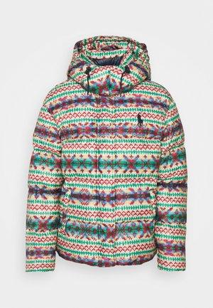 CARLY - Zimní bunda - fairisle multi