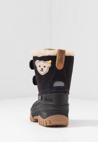 Steiff Shoes - PAULI - Bottes de neige - navy - 4