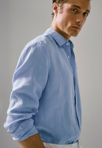 Massimo Dutti - SLIM-FIT - Shirt - blue - 2