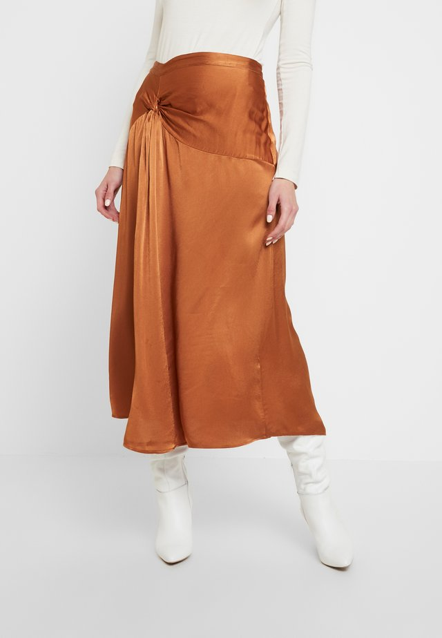 ADELE SKIRT - A-line skjørt - brown