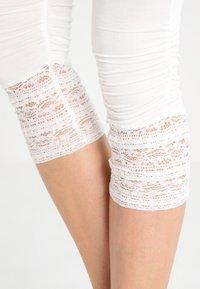 Cream - AGNES  - Leggings - chalk - 3