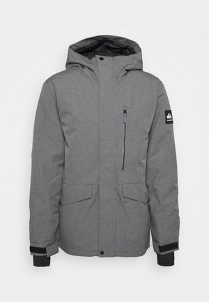 MISSION SOLI - Snowboardjas - heather grey