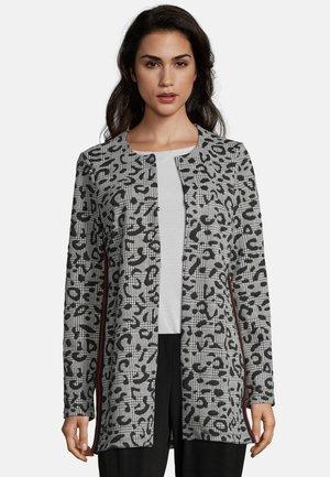 Short coat - black/white