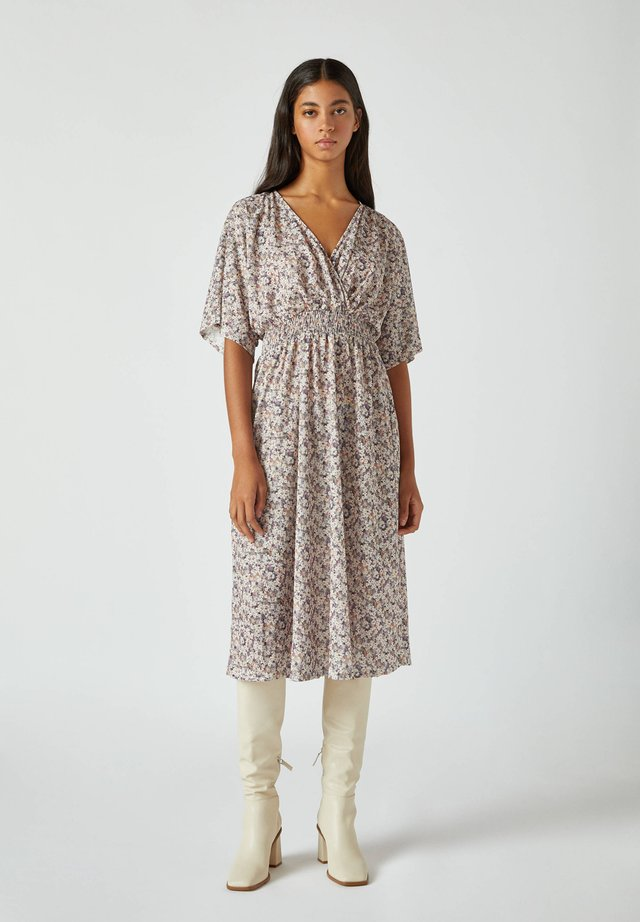 Korte jurk - mauve