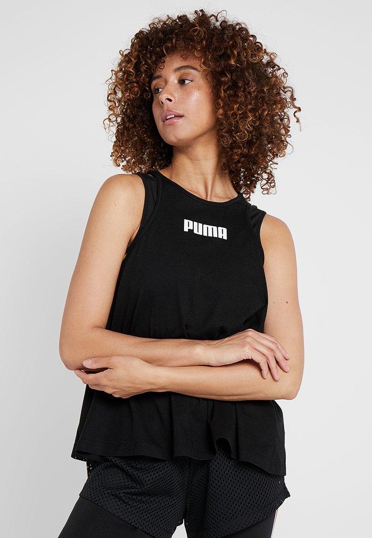 Puma - PERFORMANCE TANK - Tekninen urheilupaita - black