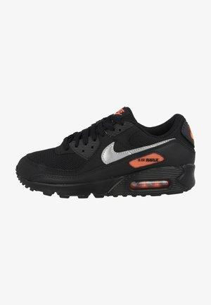 AIR MAX 90 - Sneakers - black-total orange-reflect silver