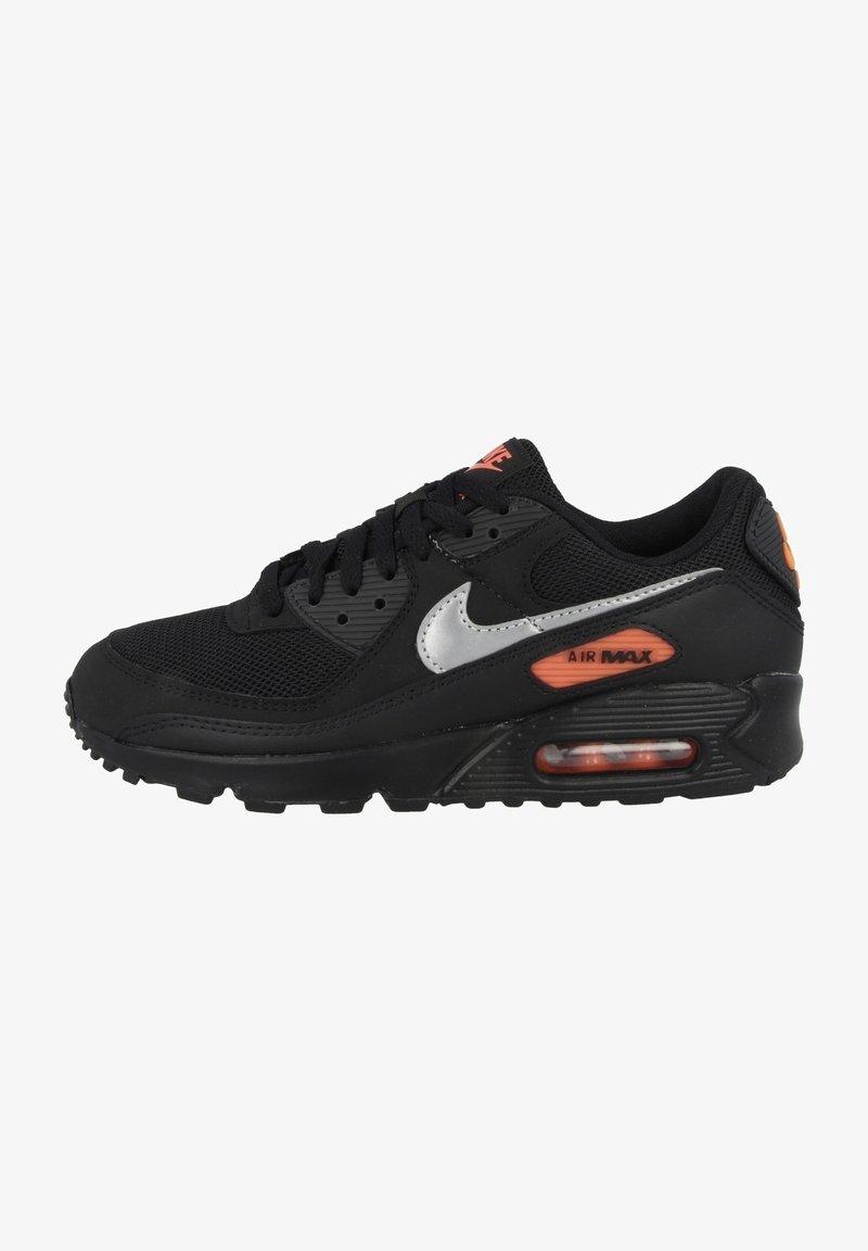 Nike Sportswear - AIR MAX 90 - Sneakers - black-total orange-reflect silver