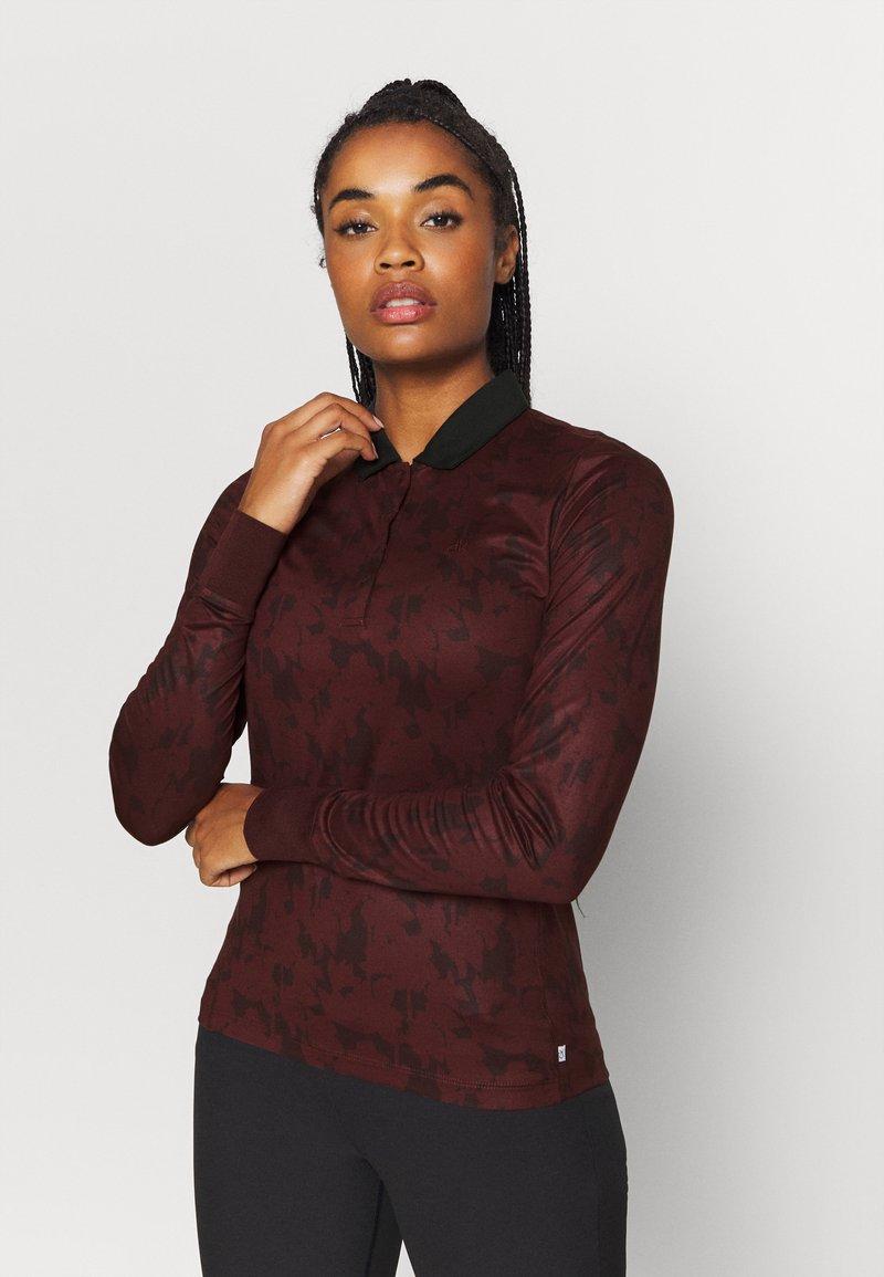 Calvin Klein Golf - ALTMAN - Polo shirt - blackberry