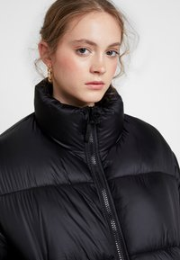 Weekday - BENITA PUFFER JACKET - Winter jacket - black - 3