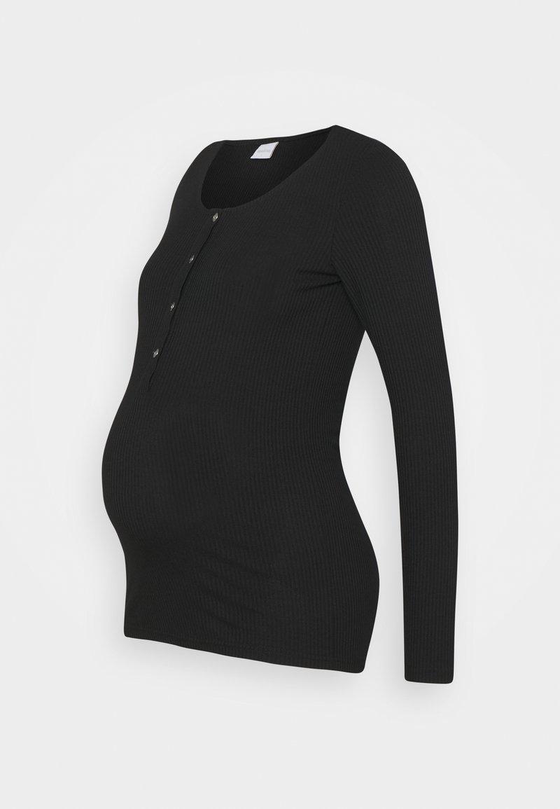 MAMALICIOUS - NURSING - Long sleeved top - black