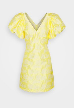 VIPETIA V NECK DRESS - Robe de soirée - lemonade/cloud dancer