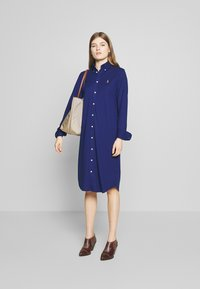 Polo Ralph Lauren - OXFORD - Shirt dress - holiday navy - 1