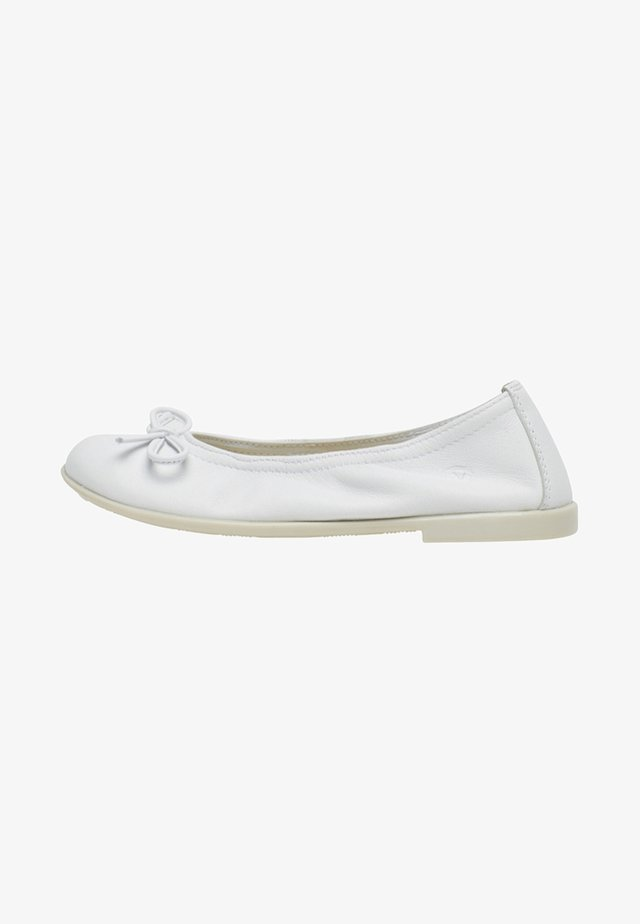NATURINO MARGOT - Ballet pumps - white