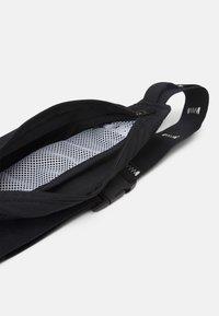 adidas Performance - RUN BELT UNISEX - Bum bag - black/white - 2