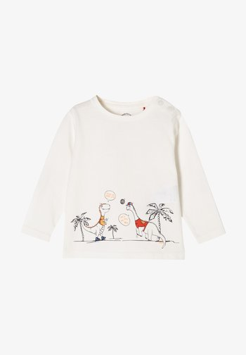 Maglietta a manica lunga - ecru