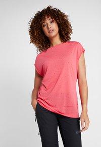 Vaude - TEKOA - Print T-shirt - bright pink - 0
