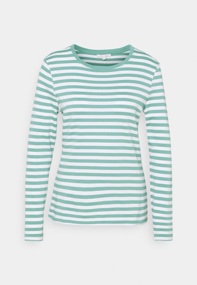 Long sleeved top - mineral white