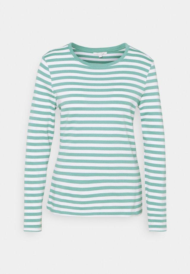 Långärmad tröja - mineral white