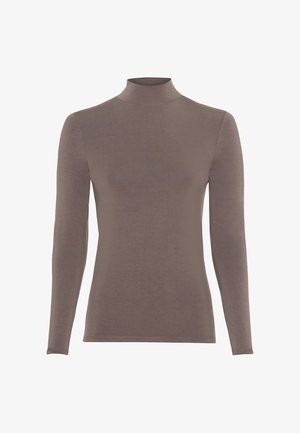 Long sleeved top - taupe
