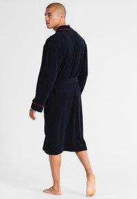 Jockey - BATHROBE - Dressing gown - navy - 2